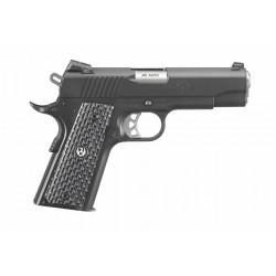Pistolet Ruger SR1911 Commander Plaquettes Micarta calibre 45 Auto