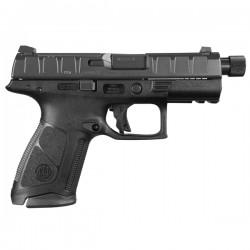 Pistolet Beretta APX Noir calibre 9x19 - Canon fileté 1/2-28