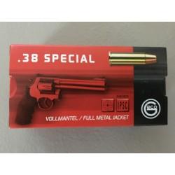 Cartouches Geco 38 special FMJ - boite de 50