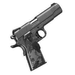 Pistolet Kimber 1911 Custom Covert