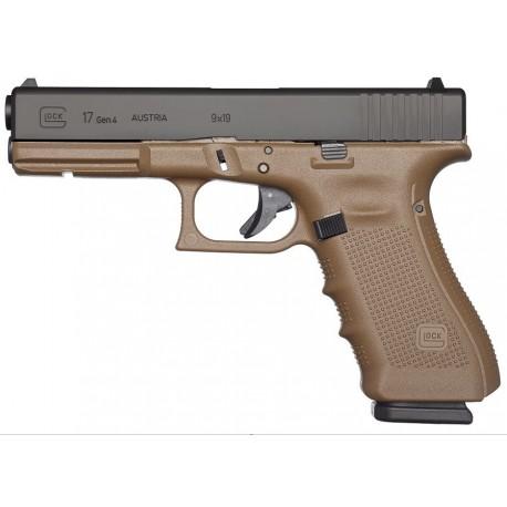 Pistolet Glock 17 Gen4 FDE cal 9x19