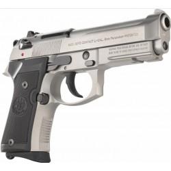 Pistolet Beretta M9A1 92FS compact inox - Calibre 9mm Para 13 coups
