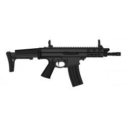Robinson Armament XCR-L Micro, canon de 7,5'', Noir