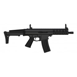 Robinson Armament XCR-L Mini, canon de 7,5'', Noir
