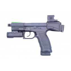 B&T Chassis-Crosse USW-G17 pour Glock 17/19 Gen3/4/5