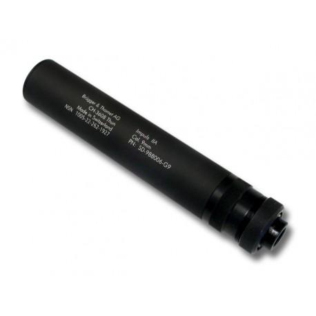 Modérateur de son Brügger & Thomet Impuls-IIA calibre 9x19 filetage M13.5x1 gauche