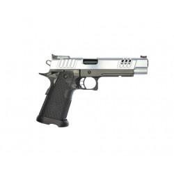 Pistolet STACCATO XL 9x19 mm Canon DLC/Culasse Chromée