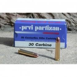 Cartouches PARTIZAN CAL. .30 M1 110-GRS FMJ RN lot de 500