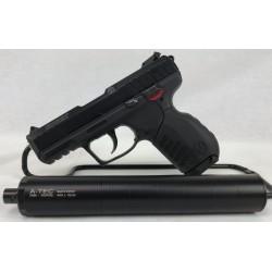 Pistolet Ruger SR 22 .22Lr avec modérateur A-Tec