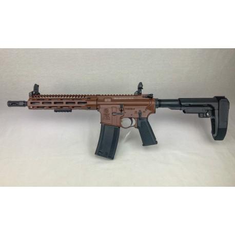 TROY M4A1 SOCC SBA3 Brown - 223 Rem. 10'' - SOCC 9.25''