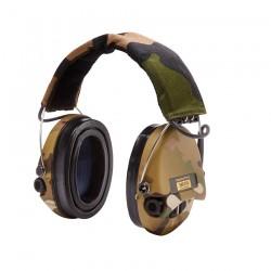 Casque anti bruit Sordin Supreme Pro X Camo Led