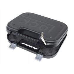 Mallette Glock noire avec système de fermeture à clef