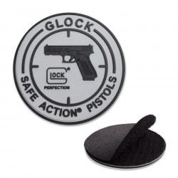 Patch rond caoutchouc Glock