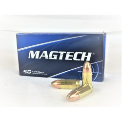 Cartouches MAGTECH Cal. 9x19mm LUGER 124gr FMJ - lot de 500